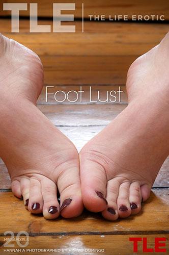 """Hannah A """"Foot Lust"""""""