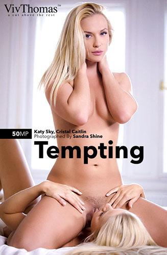 """Cristal Caitlin & Katy Sky """"Tempting"""""""