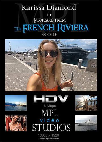 "Karissa Diamond ""Postcard: French Riviera"""