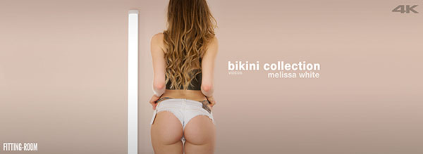 "Melissa White ""Bikini Collection 02"""