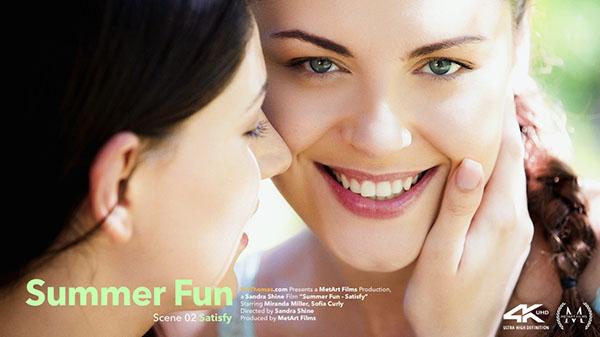 "Miranda Miller & Sofia Curly ""Satisfy"""