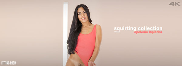 "Apolonia Lapiedra ""Squirting Collection"""