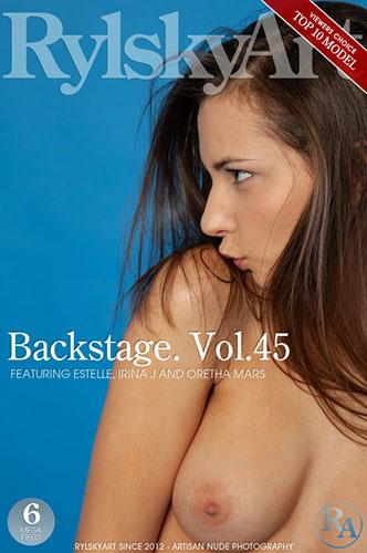 """Estelle, Irina J & Oretha Mars """"Backstage. Vol.45"""""""