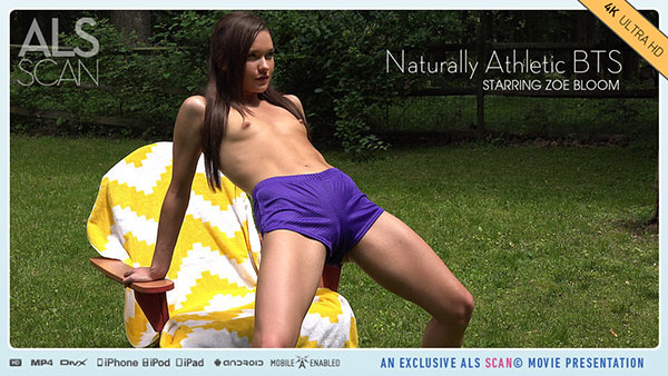 "Zoe Bloom ""Naturally Athletic BTS"""