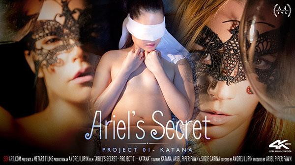 """Ariel Piper Fawn & Katana & Suzie Carina """"Ariel's Secret - Project 1 Katana"""""""