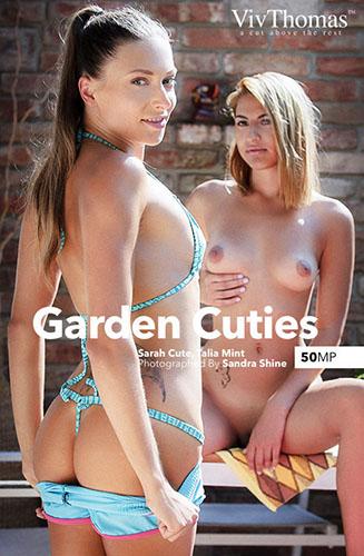 "Sarah Cute & Talia Mint ""Garden Cuties"""