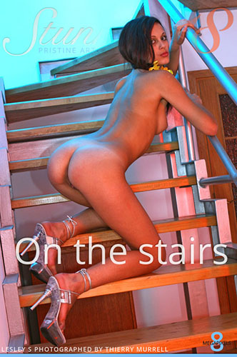 "Lesley S ""On the Stairs"""