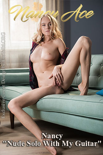 """Nancy """"Nude Solo With My Guitar"""""""