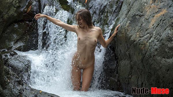 "Elly ""Waterfall Nude"""