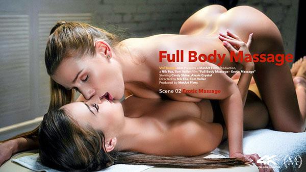 "Alexis Crystal & Cindy Shine ""Erotic Massage"""
