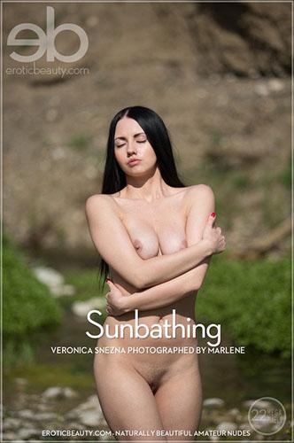 "Veronica Snezna ""Sunbathing"""