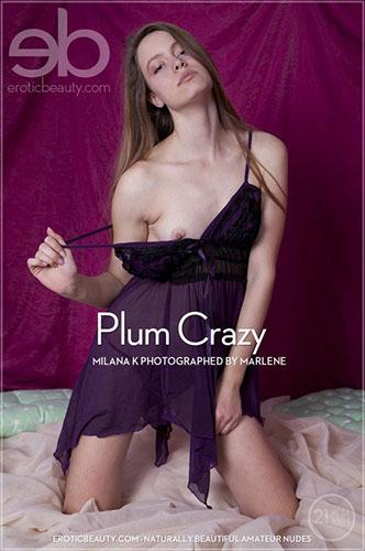 """Milana K """"Plum Crazy"""""""