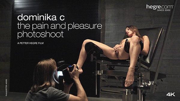 "Dominika C ""The Pain And Pleasure Photoshoot"""