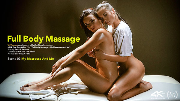 "Petra F & Sabrisse ""My Masseuse And Me"""