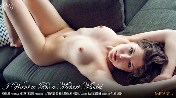 "Satin Stone ""I Want to be a MetArt Model"""