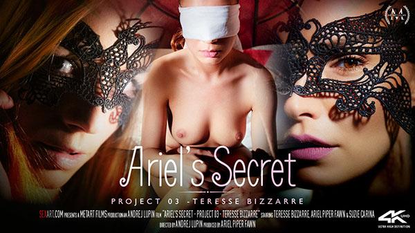 """Ariel Piper Fawn & Suzie Carina & Teresse Bizzarre """"Ariel's Secret"""" by Andrej Lupin"""