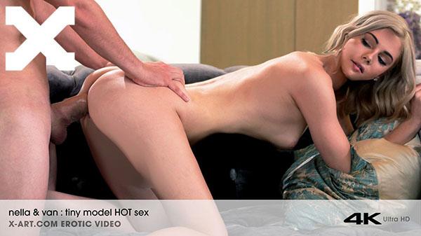 "Nella Jones ""Tiny Blonde Hot Sex Romantic Evening"""