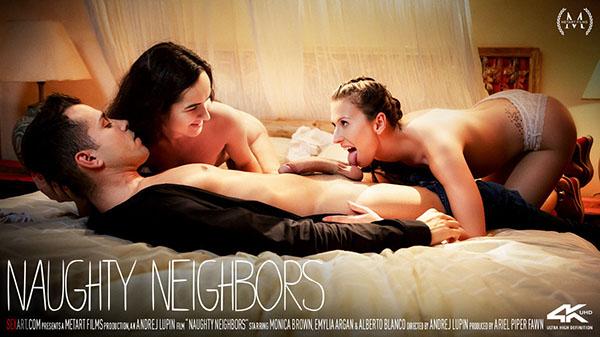 "Emylia Argan & Monica Brown ""Naughty Neighbors"""