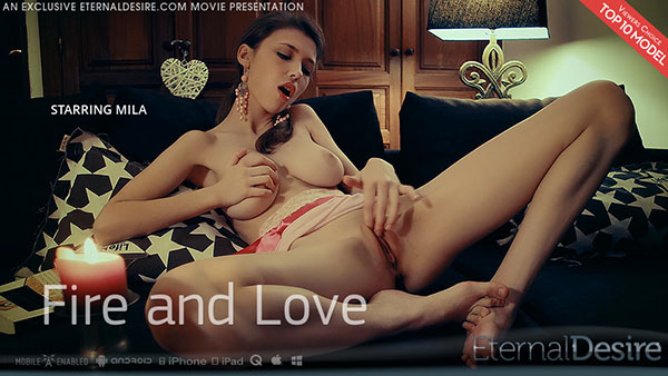 "Mila Azul ""Fire and Love"""