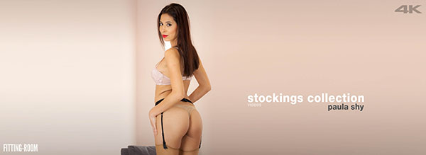 "Paula Shy ""Stockings Xollection"""
