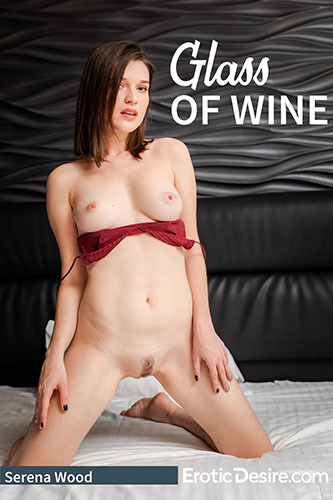 "Serena Wood ""Glass Of Wine"""