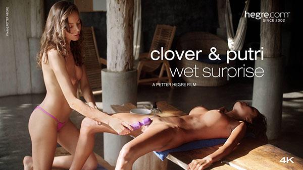 "Clover & Putri ""Wet Surprise"""