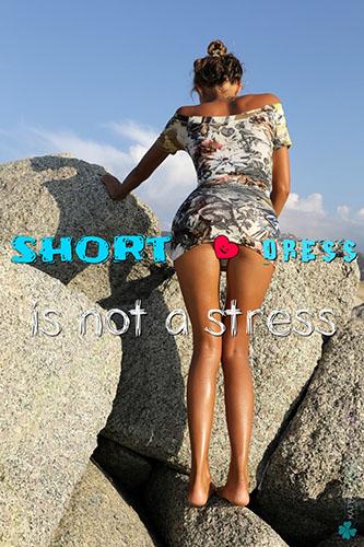 """Katya Clover """"Short Dress"""""""