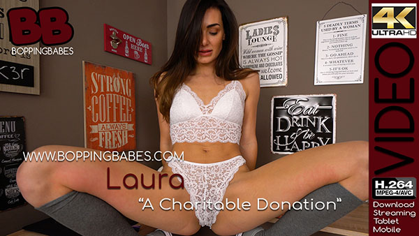 "Laura ""A Charitable Donation"""