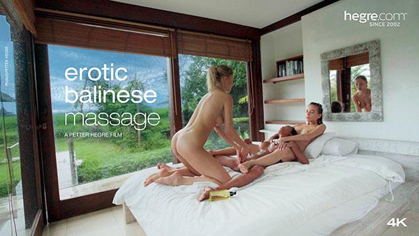 "Clover, Natalia A & Putri ""Erotic Balinese Massage"""