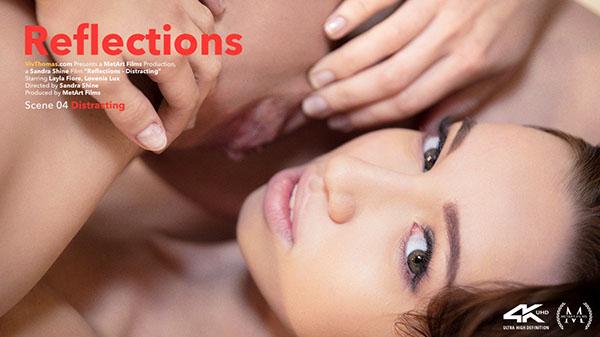 """Leyla Fiore & Lovenia Lux """"Distracting"""""""