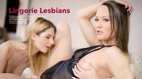 "Blue Angel & Rebecca Volpetti ""Lingerie Lesbians"""