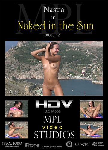 """Nastia """"Naked in the Sun"""""""