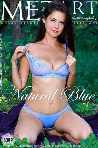 "Martina Mink ""Natural Blue"""