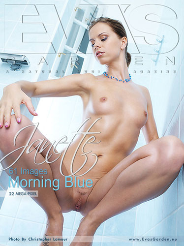 """Janette """"Morning Blue"""""""