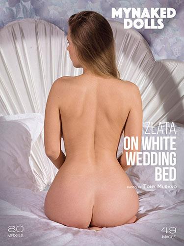 """Zlata """"On White Wedding Bed"""""""