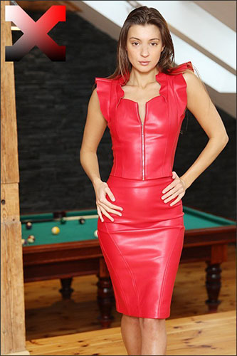 """Malena A """"Sexy in Red with Toys"""""""