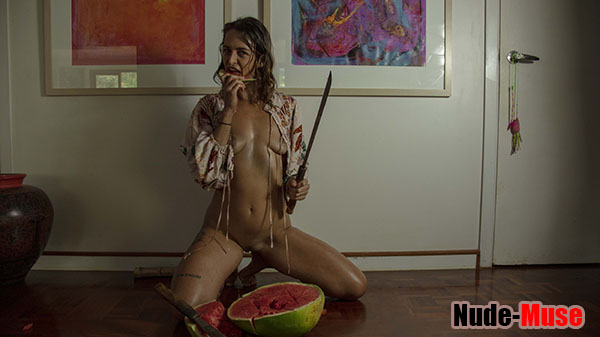 "Mia Morgan ""Watermelon Art"""