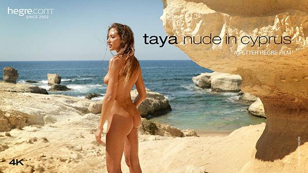 """Taya """"Nude In Cyprus"""""""