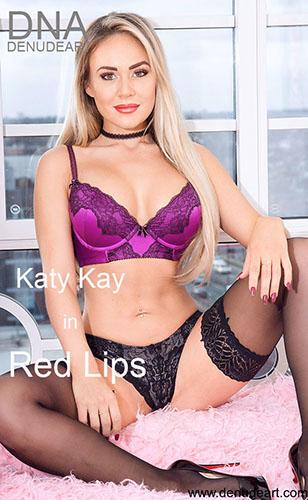 """Katy Kay """"Red Lips"""""""