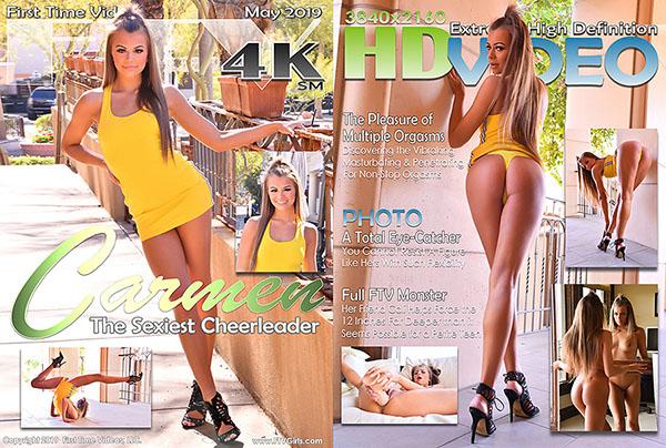 "Carmen ""The Sexiest Cheerleader"""