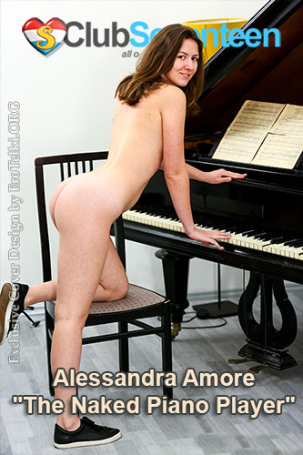 "Alessandra Amore ""The Naked Piano Player"""