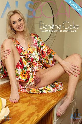 "Chanel Shortcake ""Banana Cake"""