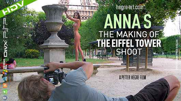 """Anna S """"The Making Of The Eiffel Tower Shoot"""""""