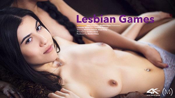 "Andreina Deluxe & Anya Krey ""Lesbian Games"""