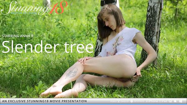 """Anna R """"Slender Tree"""""""