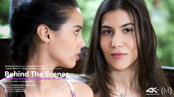 "Andreina Deluxe & Anya Krey ""On Location BTS"""