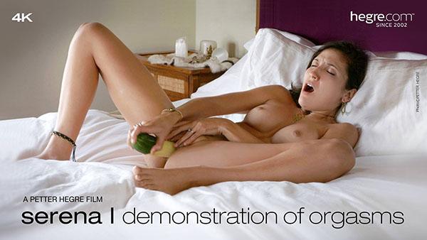 "Serena L ""Demonstration of Orgasms"""