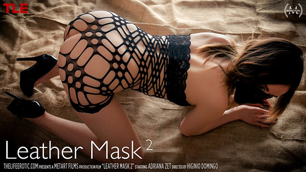 """Adriana Zet """"Leather Mask 2"""""""