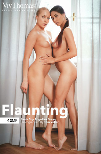 "Angelika Greys & Paula Shy ""Flaunting"""