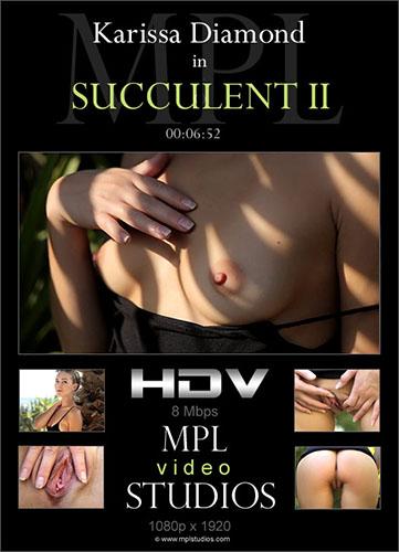 """Karissa Diamond """"Succulent II"""""""